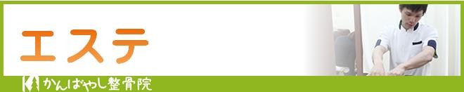 栃木県高根沢町かんばやし整骨院エステ(フェイシャルエステ・ボディエステ・ダイエット)